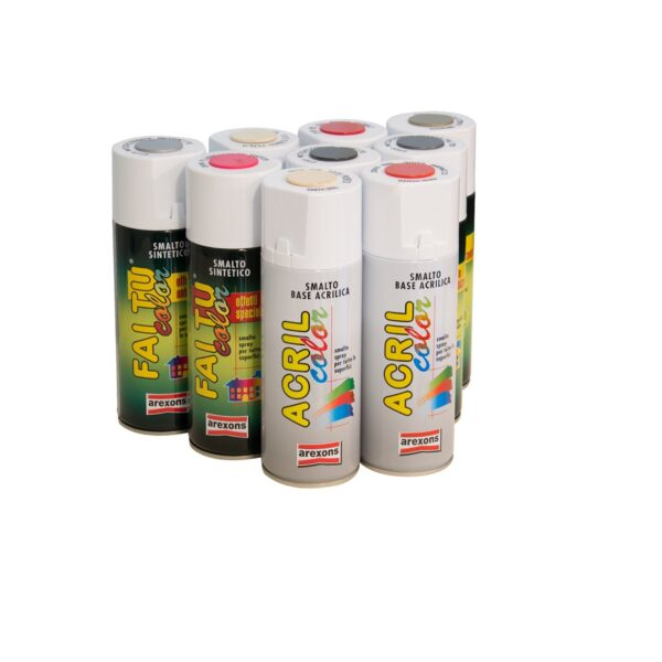 Colore spray in bomboletta
